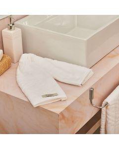 Toalha de Rosto Jade Karsten - Branco