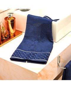 Toalha de Rosto Safira - Azul