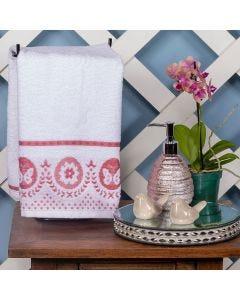 Toalha de Rosto Tiffany 48x75cm Havan - Branco