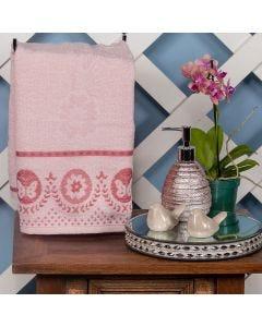 Toalha de Rosto Tiffany 48x75cm Havan - Rosa Suave