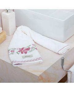 Toalha de Rosto Yuna Karsten - Branco 1