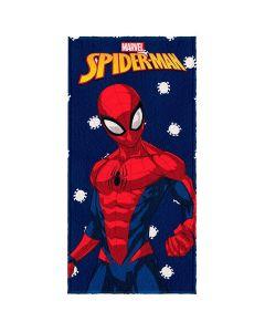 Toalha Felpuda de banho Spider Man Lepper - Marinho