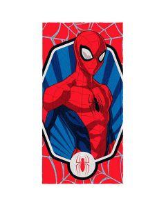 Toalha Felpuda de banho Spider Man Lepper - Vermelho