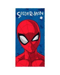Toalha Felpuda de banho Spider Man Lepper - Azul
