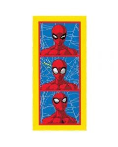 Toalha Felpuda de banho Spider Man Lepper - Amarelo 1