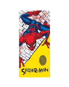 Toalha Felpuda de banho Spider Man Lepper - Branco