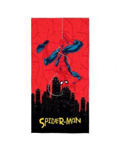 Toalha Praia Aveludada Spider-Man Ultimate Lepper - Vermelho