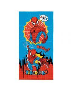 Toalha Praia Aveludada Spider-Man Ultimate Lepper - Spider Man 6154588