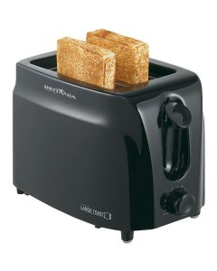 Torradeira Elétrica Large Toast Preta Britânia