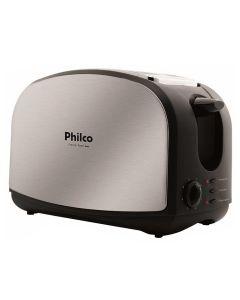 Torradeira French Toast Inox 900W Preto e Cinza Philco