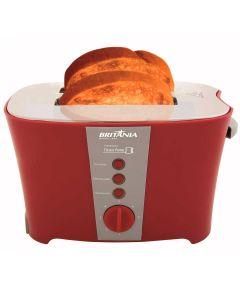 Torradeira Tosta Pane Vermelha Multifunções Britânia