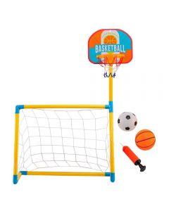 Trave de Futebol com Tabela de Basquete Havan - HBUB002