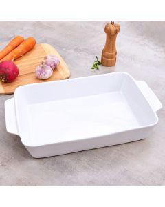 Travessa em Cerâmica 3,8 litros Oslo - Branco