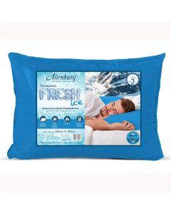 Travesseiro 50cm x 70cm Suporte Firme Fresh Ice Altenburg - AZUL