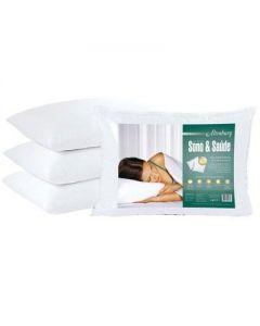 Travesseiro 50X70cm 180 Fios Sono & Saúde Altenburg - Branco