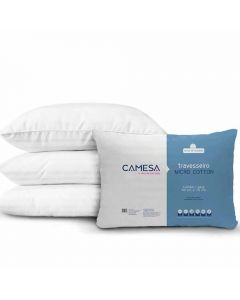 Travesseiro Micro Cotton 50X70 Camesa - Branco