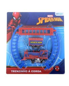 Trenzinho À Corda Spiderman Etitoys - DY-482