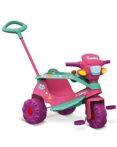Triciclo Velobaby Gatinha 207 Bandeirante - Rosa