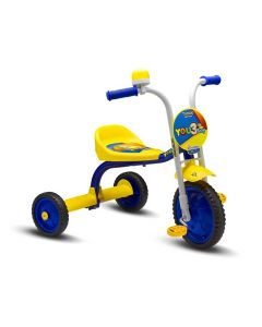 Triciclo Aro 5 You 3 Rodas Boy Nathor - Amarelo