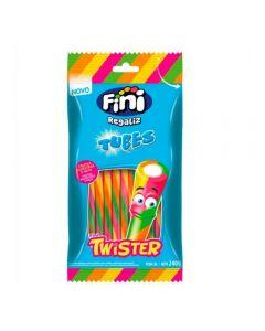 Tubes Twister De Frutas Silvestres Com Nata Fini - 80g