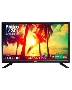 "TV Led 24"" Full-HD Philco PTV24N91SA - Bivolt"