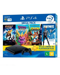 Vídeo Game PlayStation 4 Bundle Hits Family - Sony