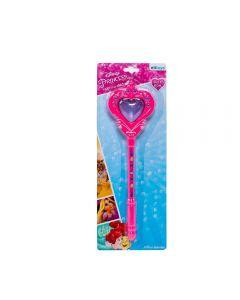 Varinha Dy 777 Mágica Coração De Princesas Etitoys - Rosa