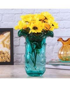 Vaso de Vidro Decorativo Italy Tiffany Lyor - Azul