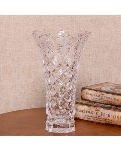 Vaso Diamond 30cm Lyor - Cristal