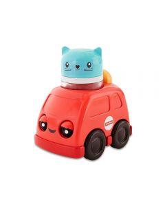 Veículos de Animalzinhos Mattel - FVC74 - Vermelho