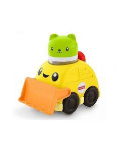 Veículos de Animalzinhos Mattel - FVC74 - Amarelo