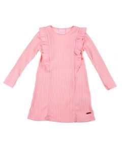 Vestido de 1 a 3 Anos Ribana Yoyo Kids Rosa