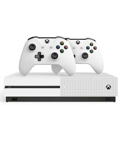 Vídeo Game Microsoft XBoX One S 1TB com 2 Controles - Bivolt