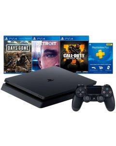 Vídeo Game PlayStation 4 1TB Bundle Hits 5.1 Sony - Bivolt