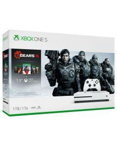Vídeo Gamer XBox One S 1TB Bundle Gear 5 Microsoft - Bivolt