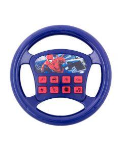 Volante Musical Spider Man DY-618 Etitoys - Azul