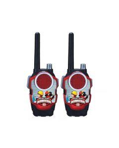 Walkie Talkie 840260 Bombeiro Art Brink - Vermelho