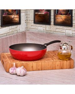 Wok Garlic 2,3 litros Brinox - Vermelho