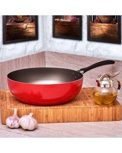 Wok Garlic 4,1 Litros Brinox - Vermelho