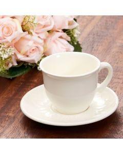 Xícara com Pires para Chá Bombaim - Perola