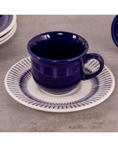 Xícara de Chá com Pires Colb Biona - Azul