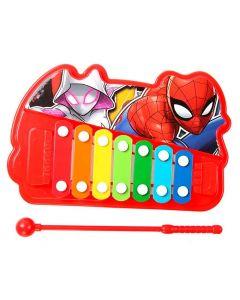Xilofone Musical Spiderman Etitoys - Vermelho