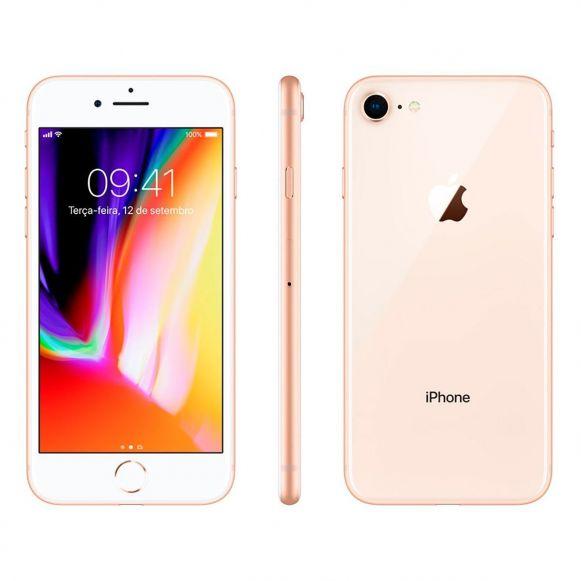 cbdf640aee4 Celular iPhone 8 64GB Single Chip Tela 4,7