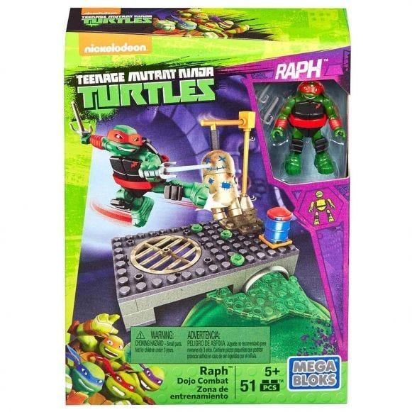 Mega Bloks Tartarugas Ninja Treino Na Rua Mattel Vermelho Havan Com