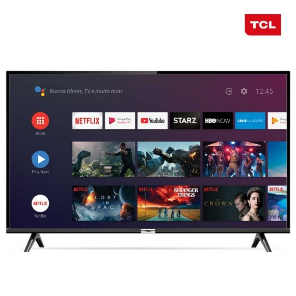 "Smart TV LED Android 40"" Full-HD 40S6500 TCL- Bivolt"