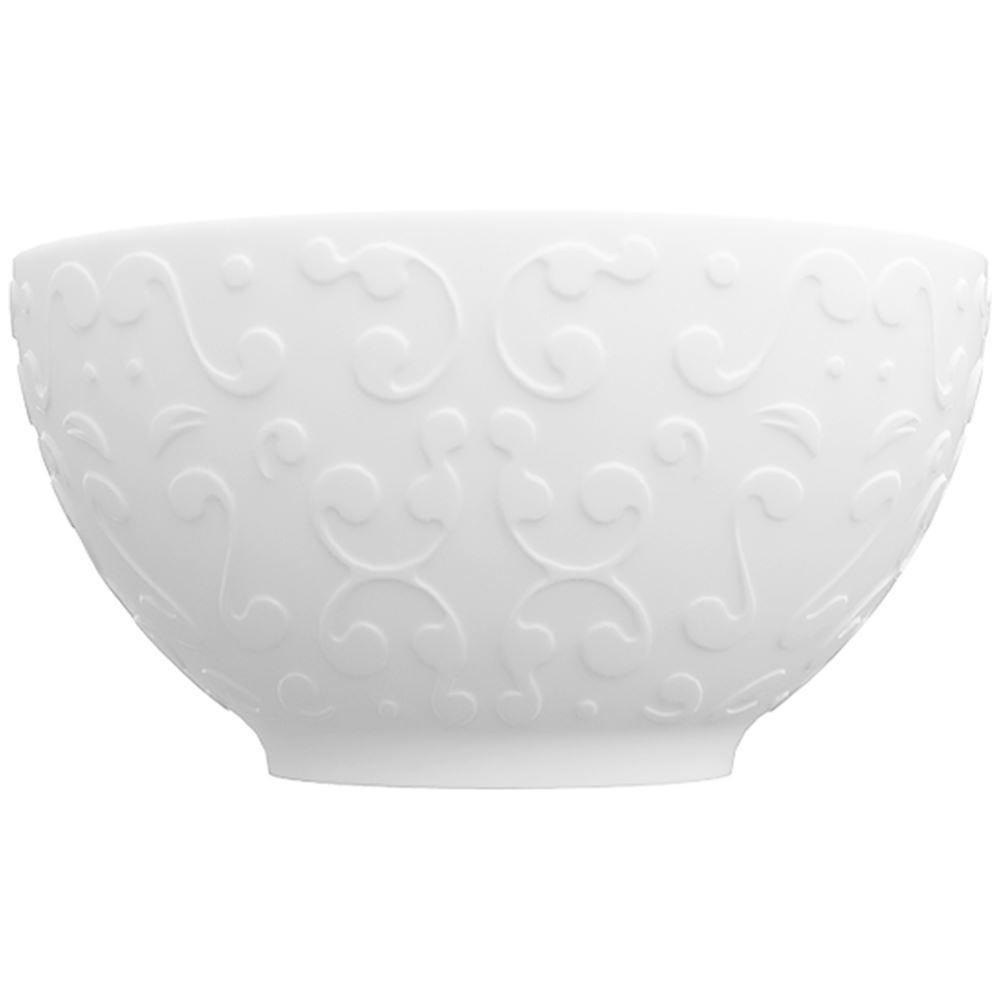 Bowl Tassel 400Ml 12,5Cm - Branco