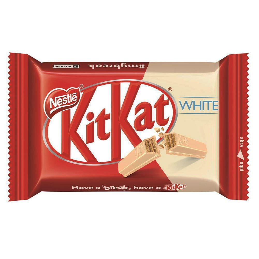 Tablete Kit Kat Branco 41,5G - 41,5g