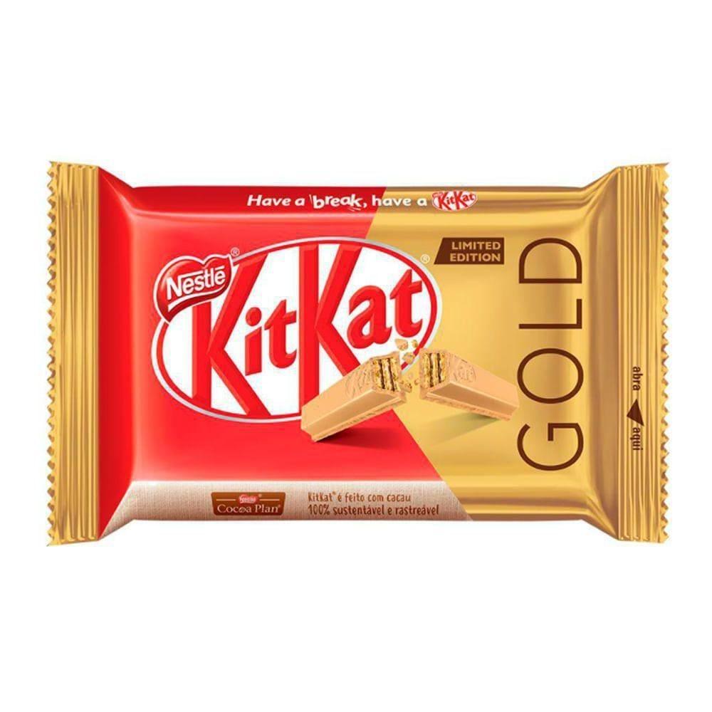 Tablete Kit Kat Gold 41,5G - 41,5g
