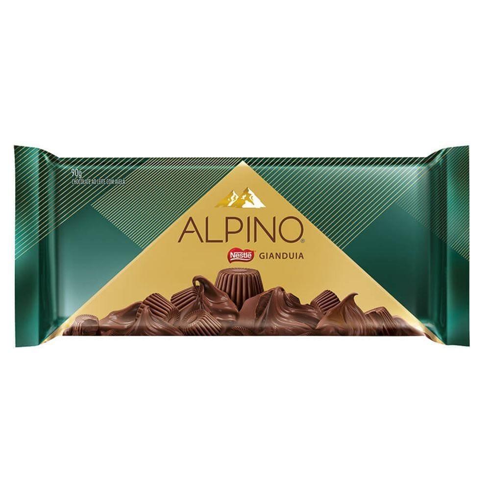 Tablete Alpino Gianduia 90G - 90g