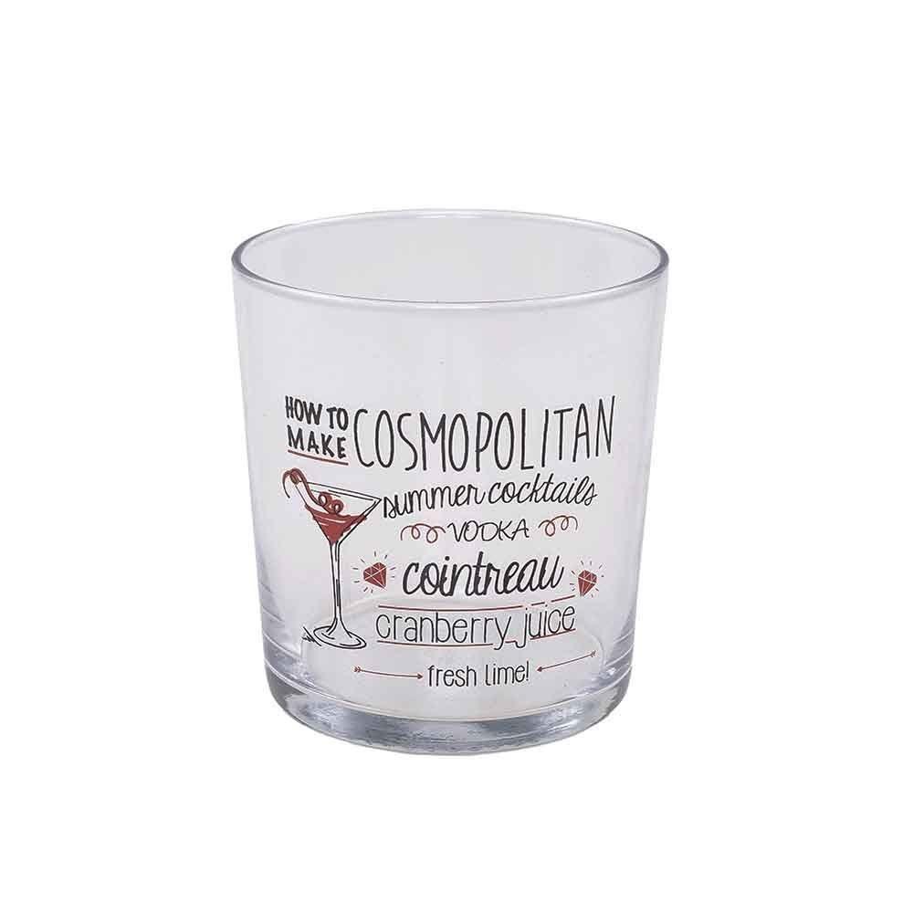 Copo Drink Vidro 360Ml - Cosmopolitan
